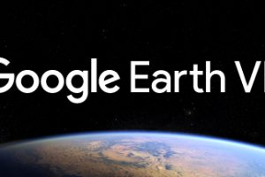 Google Earth VR on HTC Vive