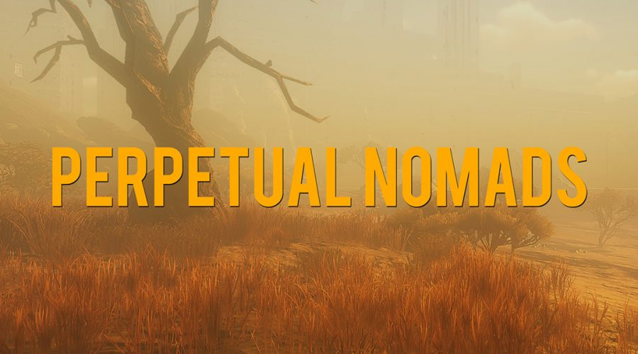 VR Storytelling with Inanimate Alice: Perpetual Nomads